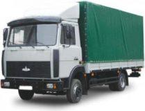 Грузоперевозки МАЗ (Зубренок) тент до 5 тонн