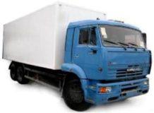 КамАЗ фургон от 10 до 15 тонн грузоперевозки
