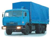КамАЗ тент от 10 до 15 тонн грузоперевозки