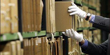 Переезд архива, перевозка документов